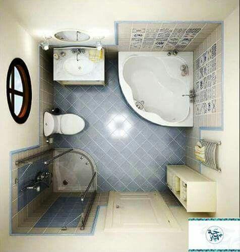 101 besten Decoración del baño Bilder auf Pinterest   Badezimmer ...