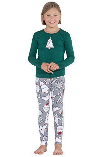 db9f9efdc Color Me Christmas Cookies Cotton Jersey Big Girl s Pajamas