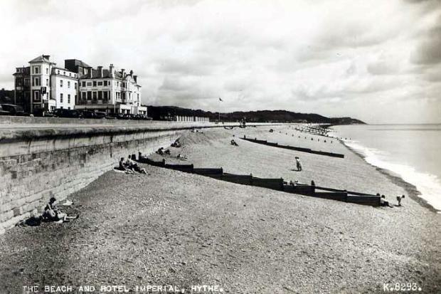Old Postcard, Hythe, Kent