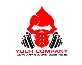 logo redskull fitness gym Logo design - logo redskull fitness gym Price $100.00
