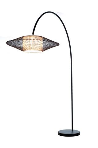 Hive [design by hive] KAI 'Arc' Floor Lamp designed by Kenneth Cobonpue