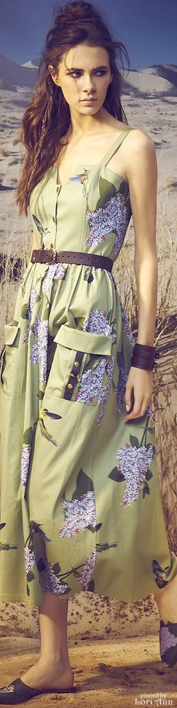 A La Russe Spring 2016 RTW women fashion outfit clothing style apparel @roressclothes closet ideas