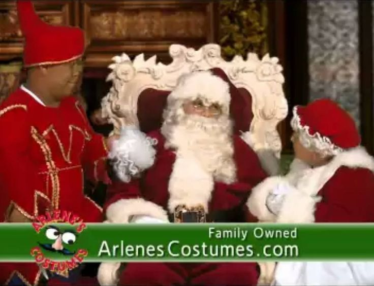 Christmas at Arlene's Costumes has always been a very special time... https://youtu.be/Zu0BRWAdj_U  Come join us and make your holiday season like those of your childhood! See our Santas Mrs. Claus elves reindeer snowmen and various Christmas characters! You can even see the famous Midtown Plaza Santa Chair!  We look forward to making your Christmas the best ever!  #santa #santachair #mrssanta #christmas