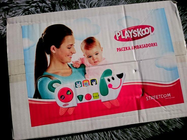 Paczka Ambasadorki.   #playskool #mojpierwszyprzyjaciel