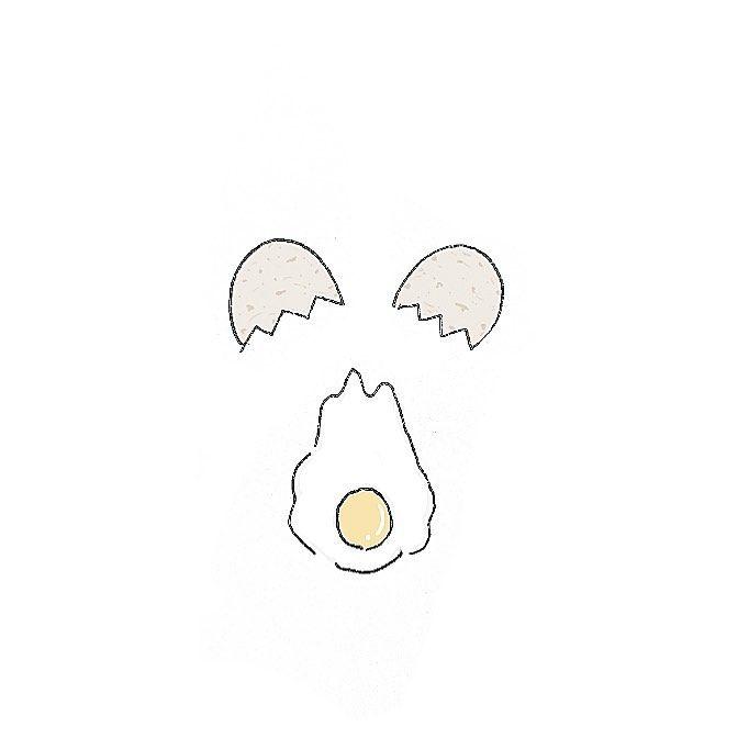 コンプリート!] 手書き かわいい 食べ物 イラスト 簡単 805694