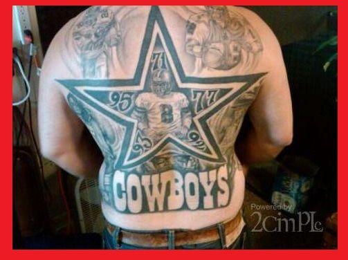 Mejores 39 Imágenes De Dallas Cowboys Skull Tattoos En