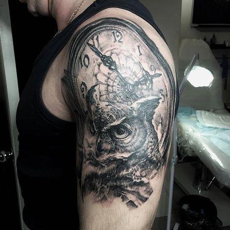 @djagarta #tattoo #tattooed #tattooing #ink #art #tattooartist #tattoowork #owl #owltattoo #followme #follow #tattoostudiosprut #tattoospb #spruttattoo #spb #тату #татуировка #татуировки #питер #спб #татустудияспрут