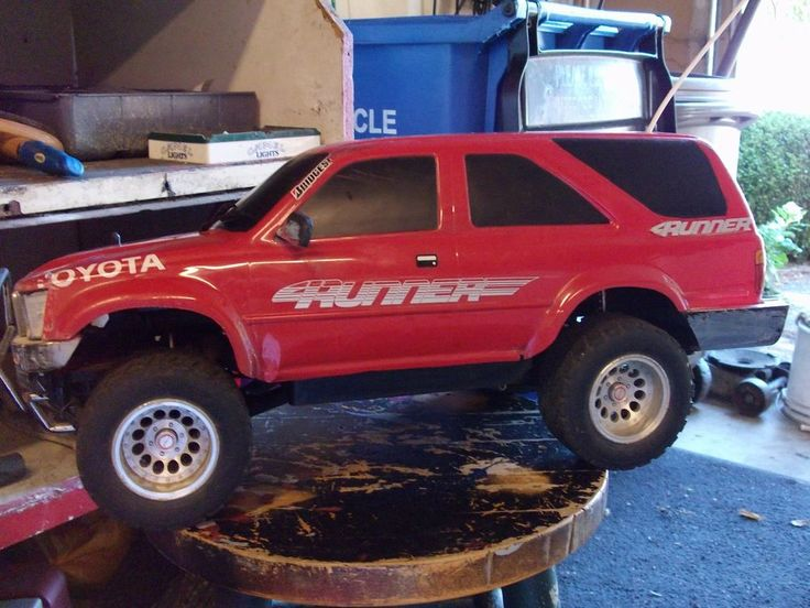 Extremely Rare Kyosho 4runner Rc Truck Vintage  Kyosho