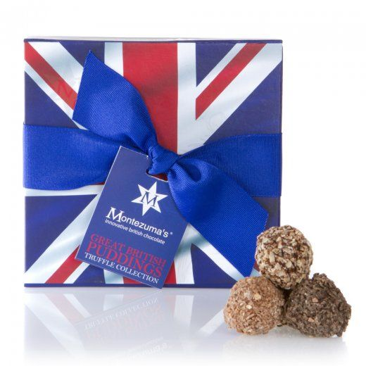 Great British Pudding Truffle Box Apple Crumble Eton Mess Chocolate