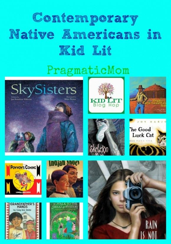 Contemporary Native Americans in KidLit and the Kid Lit Blog Hop :: PragmaticMom