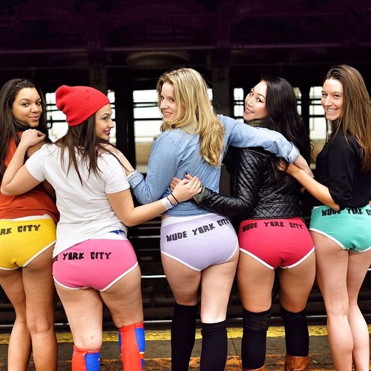 Pantless Commuters from Around The Globe Flood Subways on