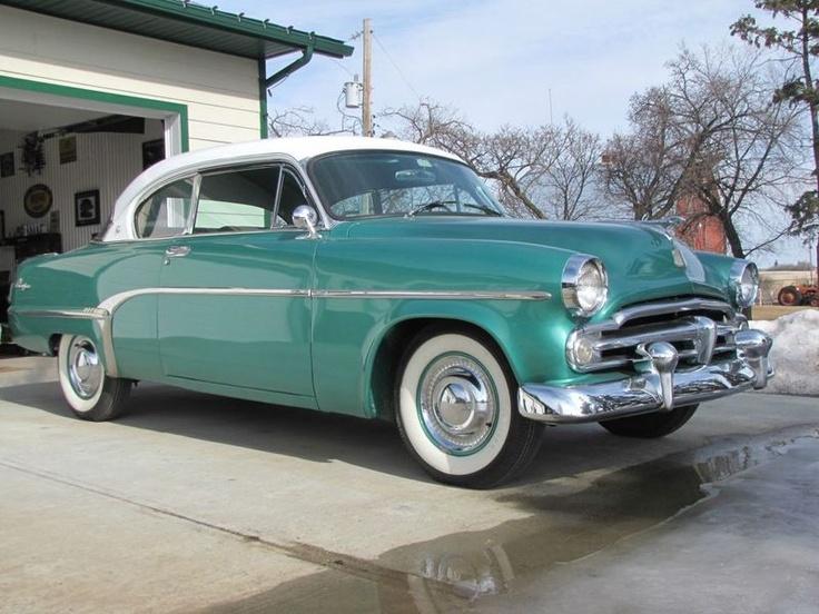 1954 Dodge Mayfair 2 Door Hardtop In Green For Sale In Alberta All About Autos Pinterest