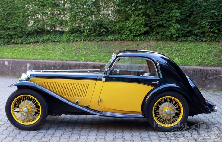 MG TA  Airline Coupe 1936