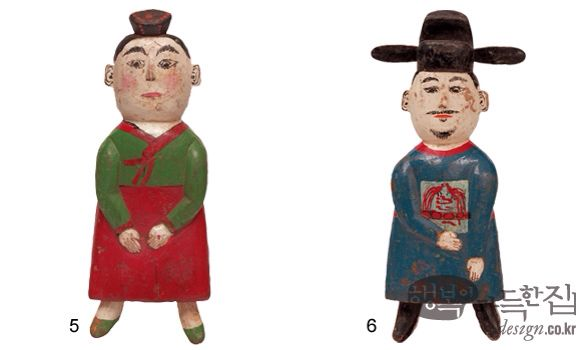 Korean traditional puppet