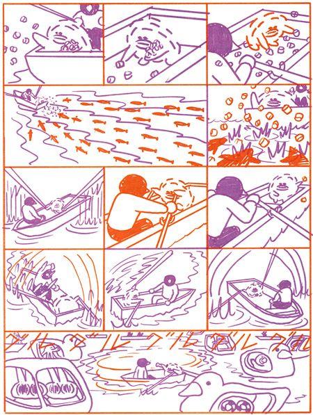 横山裕一の「ネオ漫画」表現を総括する初の大規模個展『わたしは時間を描いている』