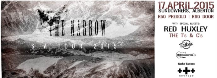 The Narrow are back in town and they cannot wait to blast you with some new tunes, and get you pumpin' with some old ones as well. This is one that you cannot miss!!! https://www.ticibox.com/event/4451921