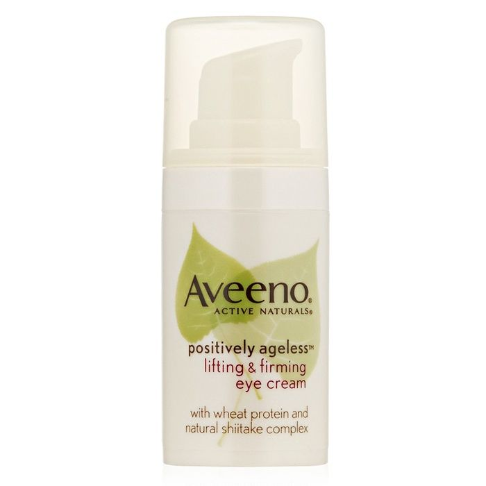 Rank & Style - Aveeno Active Naturals Positively Ageless Lifting & Firming Eye Cream #rankandstyleAVEENO ACTIVE NATURALS POSITIVELY AGELESS LIFTING & FIRMING EYE CREAM Lift and firm with a natural shitake complex, while strengthening your delicate skin around the eyes, with this anti-aging, drugstore eye cream from Aveeno. With natural shitake complex 0.5 oz