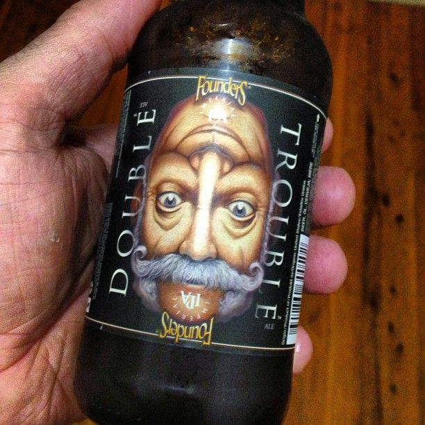 Double trouble by my new best mate, #founders. Delicious, not sessionable unless you're a Viking. #doubletrouble #beer #beerporn #beerstagram #beertography #instabeer #goodbeer #goodbeerinhand #craftbeer #craftbrew #yum