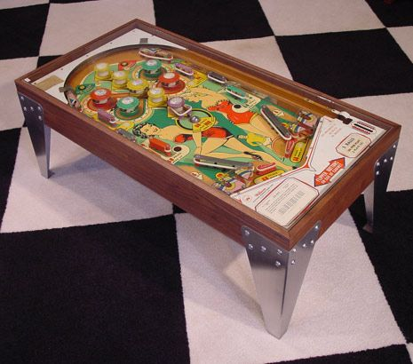 Maxwell Silverball Pinball Machine Turned Into A Table