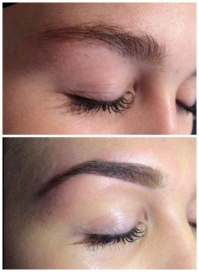 Perfect brows. How to fill in brows properly