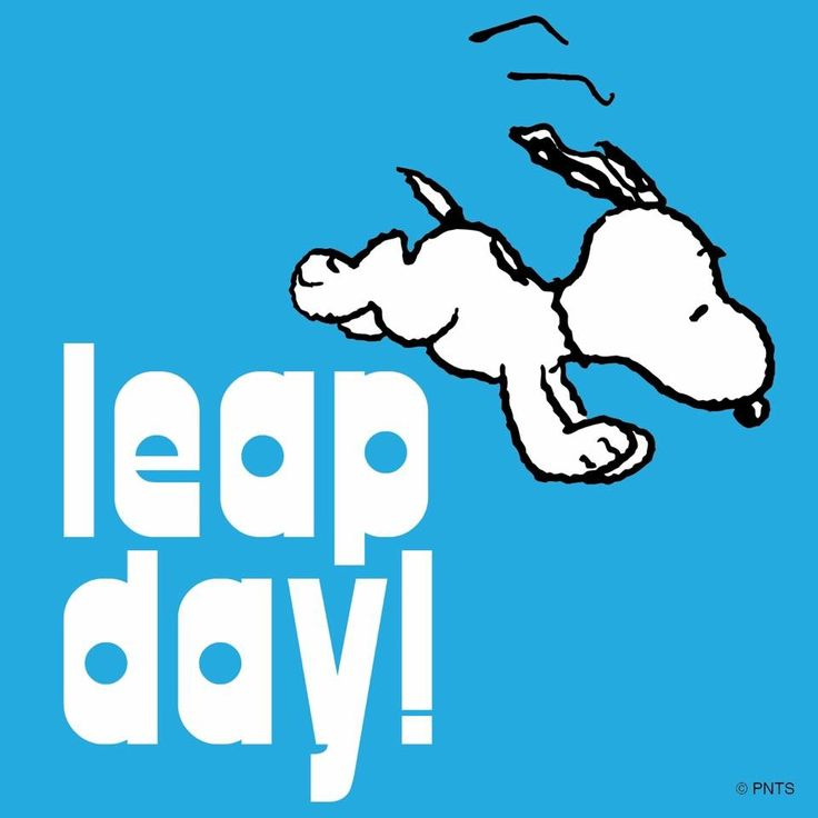 It's leap day!