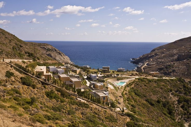 Aegea Blue Cycladic Resort- View from Above