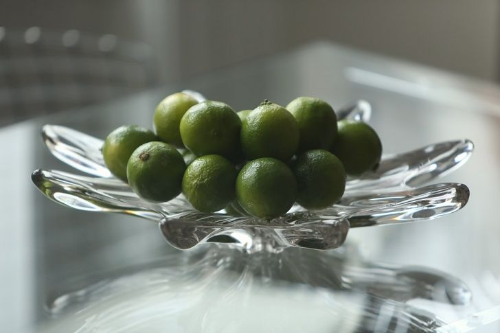 56 Welbeck Street | Limes Detail | Vintage Glass Bowl