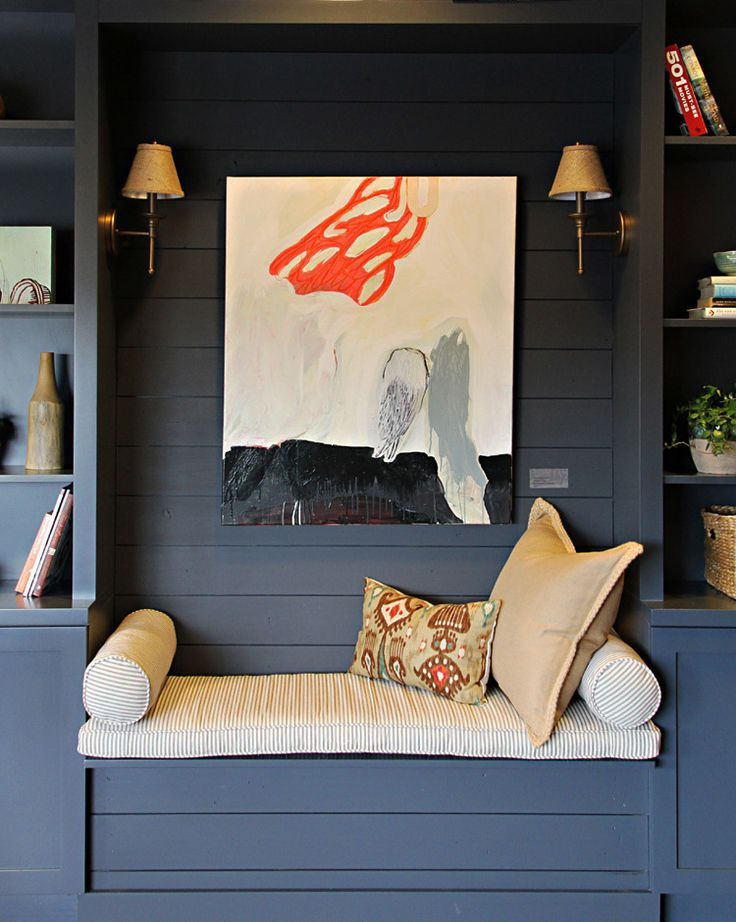 {love that dusky blue paint color} Costa + Williams Dental Health Care » Hannah Maple Studio