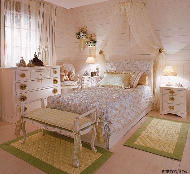 Романтические спальни