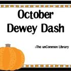 Halloween themed! Help your students locate non-fiction titles in your Library Media Center with Dewey Dash. Have students compete to locate books from your shelves...