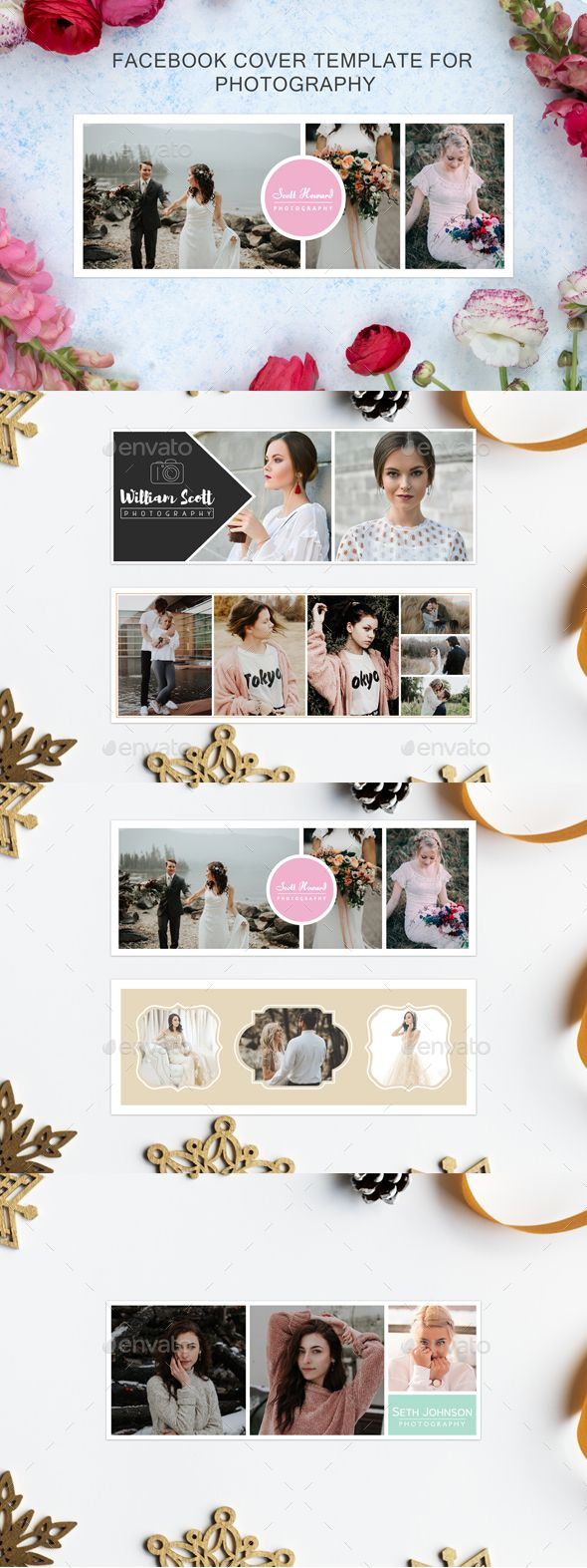 5 Facebook Cover Template for Photography
