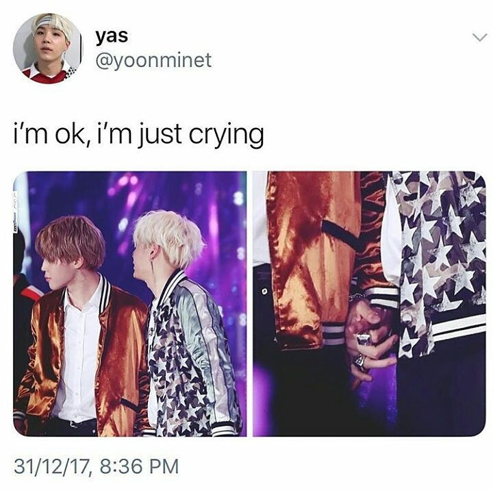 """6,341 Likes, 50 Comments - Ivy Cavasier LOVE YOURSELF (@_crazyforbts_) on Instagram: """"My yoonmin heart just exploded ❤❤❤❤ I AM NOT OKAY, DON'T TOUCH ME! #jin #jimin #jhope #rapmonster…"""""""