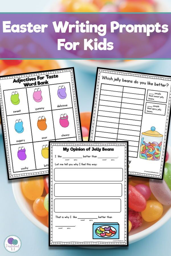Easter Writing Prompts For Kids This Is A Great Way To Get Kids