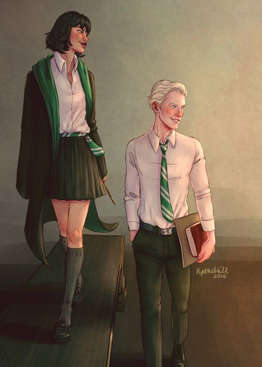 Draco and Pansy by UptheHill
