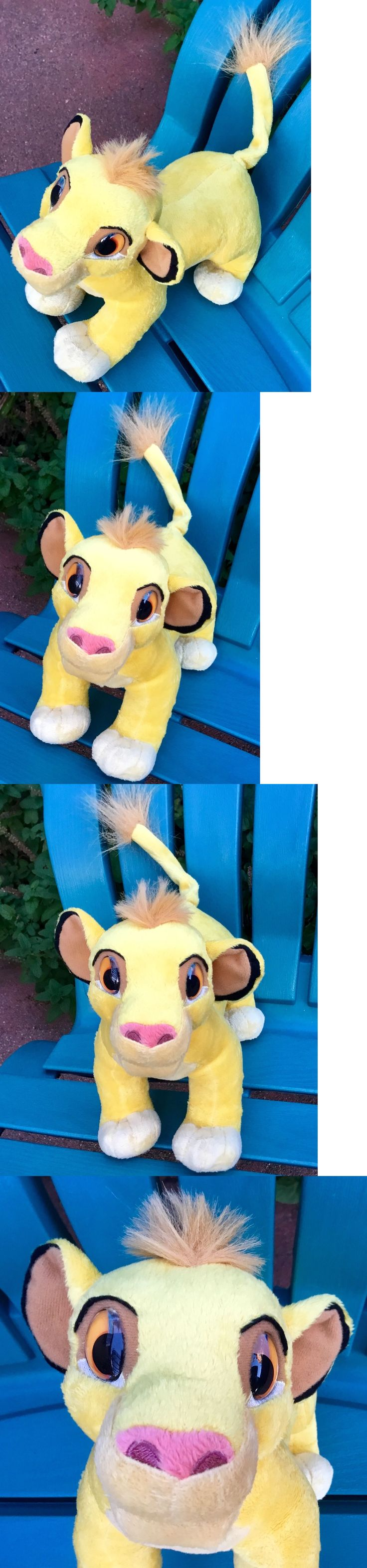 Lion King 44037: New Singing Talking Disney Real Eyes Simba Lion King Cub Plush Head Moves Talks! -> BUY IT NOW ONLY: $55.99 on eBay!