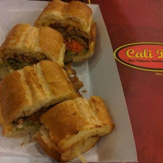 Vietnamesse sandwich @ Cali Deli