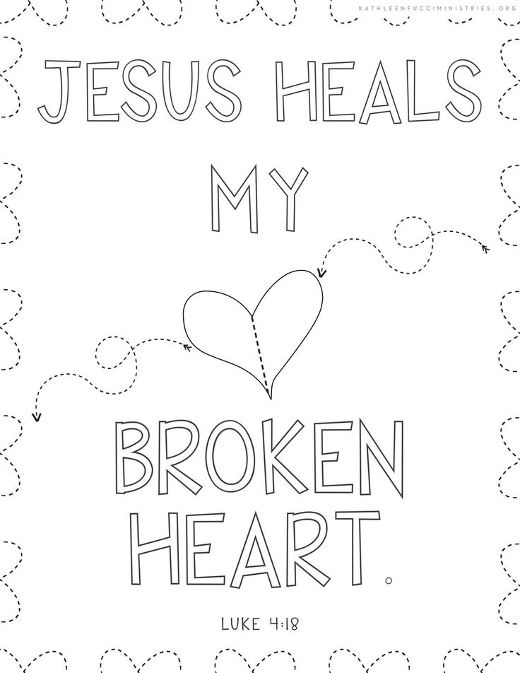 30 Bible Verse Coloring Pages For A Grieving Child 20
