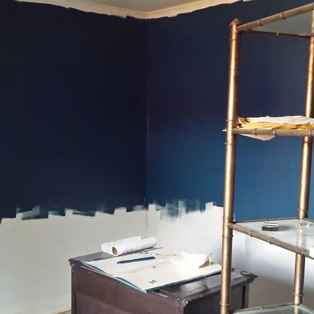 Office Paint Option #1: BEHR MARQUEE OPERA GLASSES