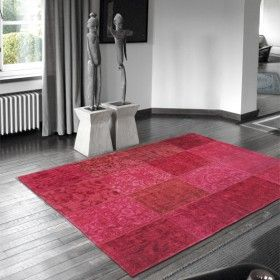 Louis De Poortere Vintage Multi Rug - Pink 8009  http://www.naken.co.uk/multi-pink.html