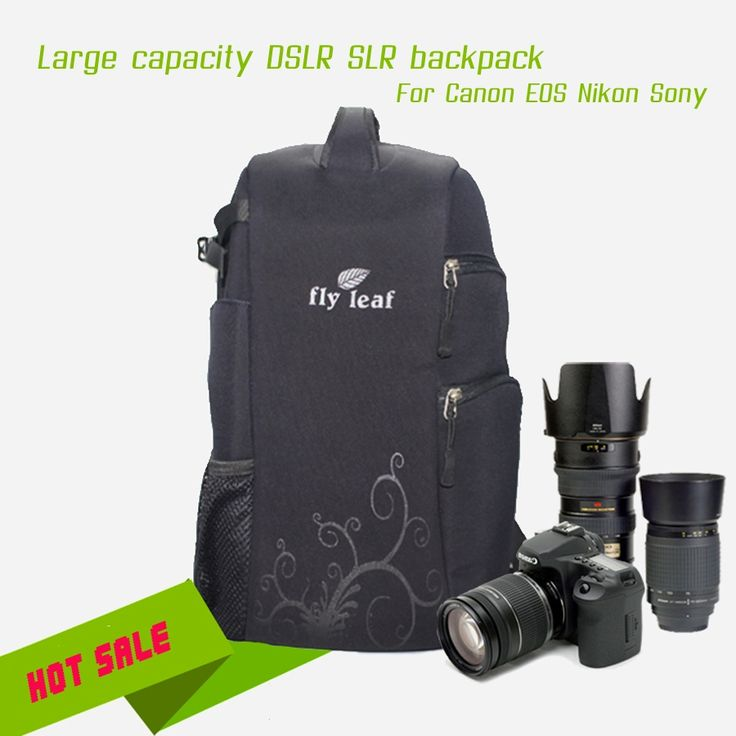 120.00$  Buy now - http://alilts.shopchina.info/1/go.php?t=32608717958 - DHL FREE Professional Large Capacity DSLR SLR Shockproof Nylon Waterproof Camera Bag Backpack Travel Bag For Canon Nikon Sony  #buyonlinewebsite