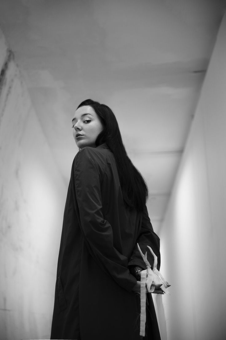 """Borderline""  #borderline #styling #blackandwhite #white #minimale #line #model #fashion #photography #editorial #sad"