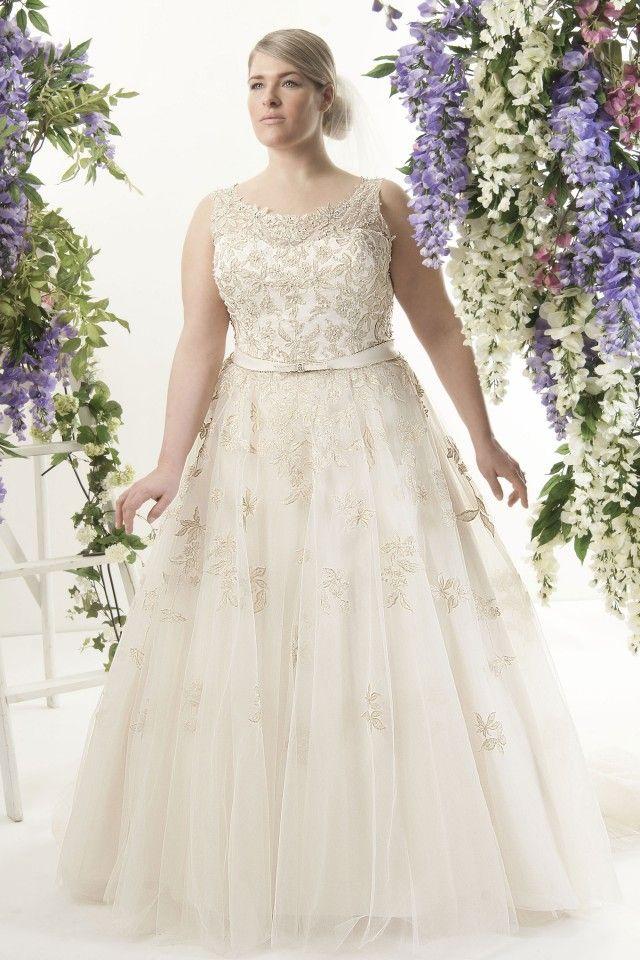 Callista Milan Plus Size Wedding Dress=LOVE IT!!!!!!!!!