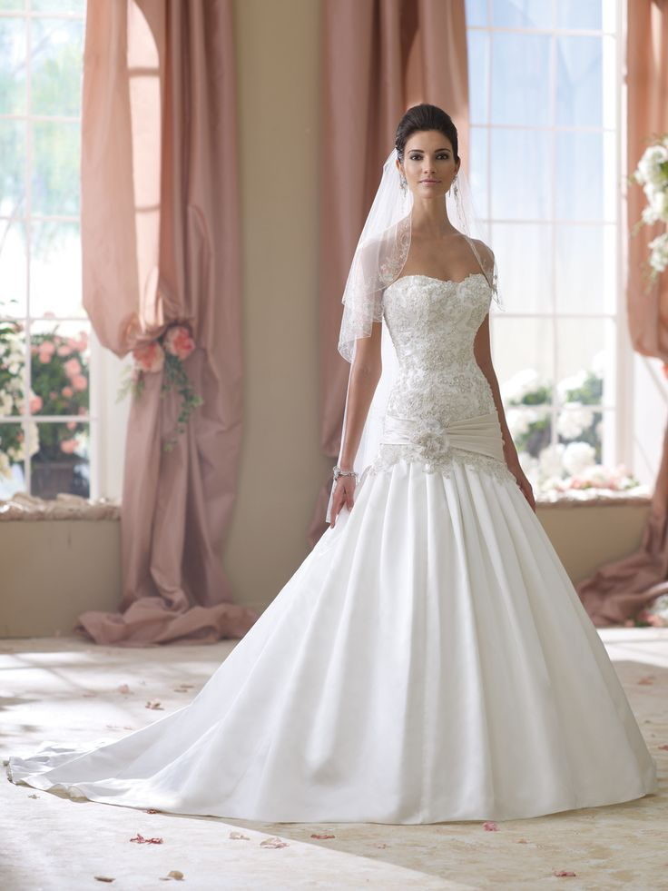 Cute David Tutera Ethel All Dressed Up Bridal Gown Mon Cheri Chattanooga TN us All Dressed Up Bridal Shop Bridal Boutique offers Wedding Gowns
