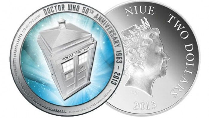 Legal tender coin celebrates Doctor Who in New Zealand | Articles | Doctor Who