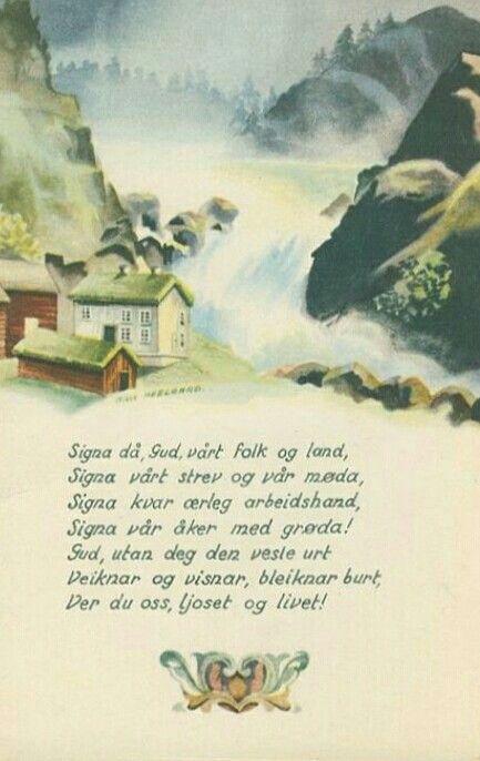 Julekort Milly Heegaard Utg Ansgar Forlag
