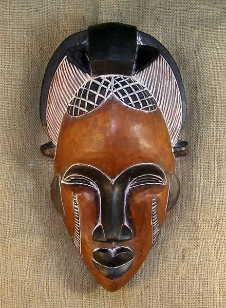 African Mask. (If you know the culture from which this mask derives, please add in a comment below.)