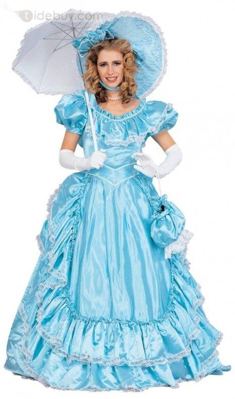 Como hacer vestido para dama antigua