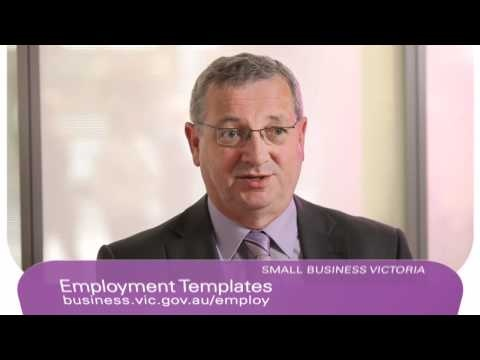 A Business Victoria vodcast on how to develop and advertise positions