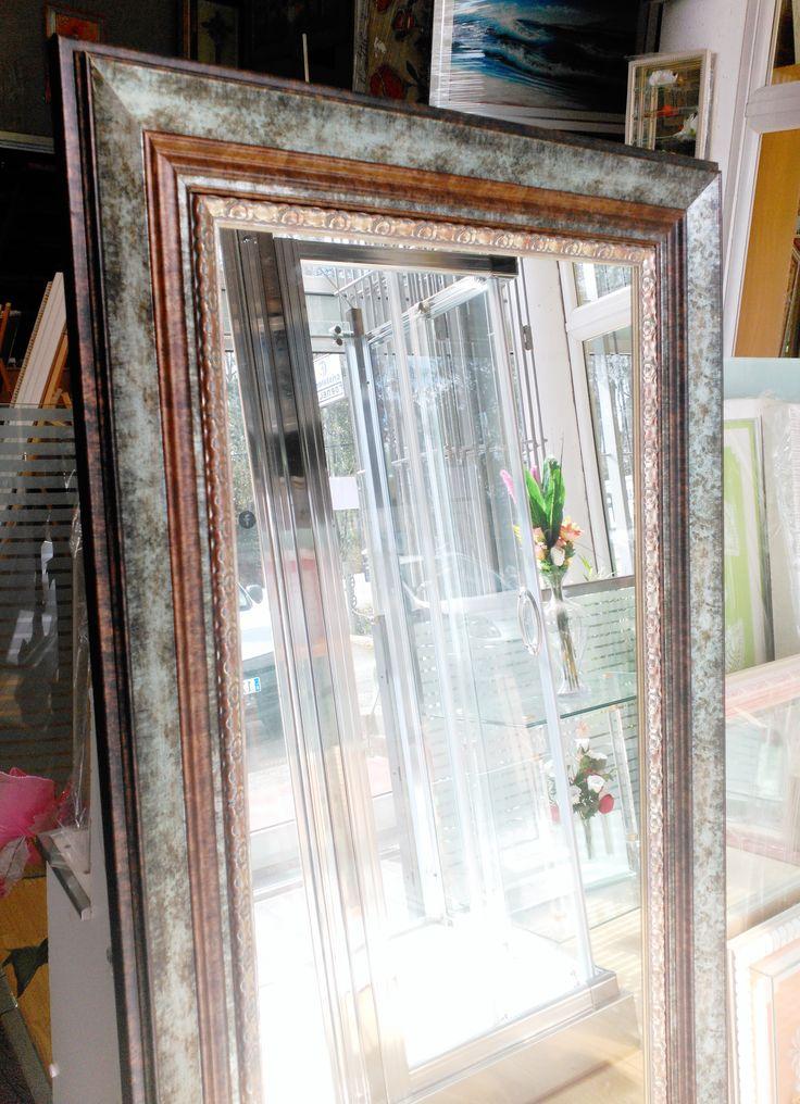 M s de 25 ideas incre bles sobre espejos enmarcados en for Espejo cuerpo entero vintage