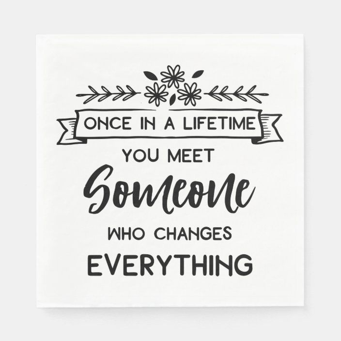 True Love Quote Wedding Bridal Shower Black White Napkins Zazzle Com In 2021 Bridal Quotes Wedding Card Quotes Bridal Shower Quotes